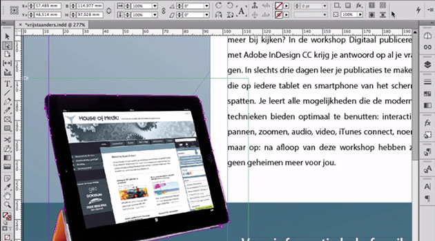 IV - InDesign - Afbeeldingen en illustraties [2014-2015]