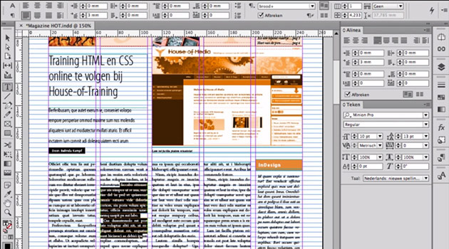 III - InDesign - Layouten van tekst en tekstkaders [2014-2015]