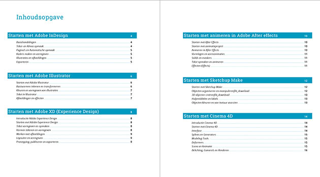 Inhoudsopgave maken in Adobe InDesign (Table of Contents)