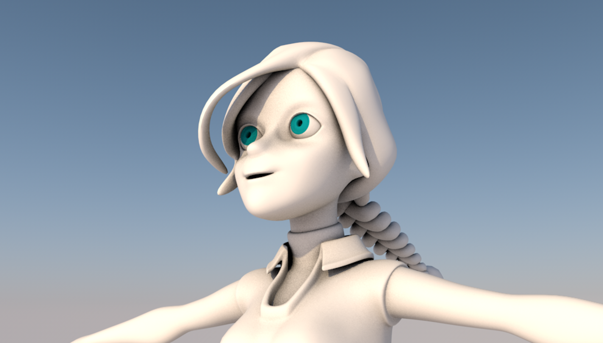 3D Anime Character in C4D