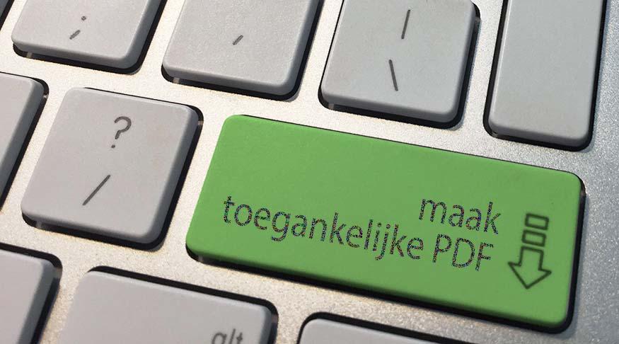 Toegankelijke PDF met InDesign