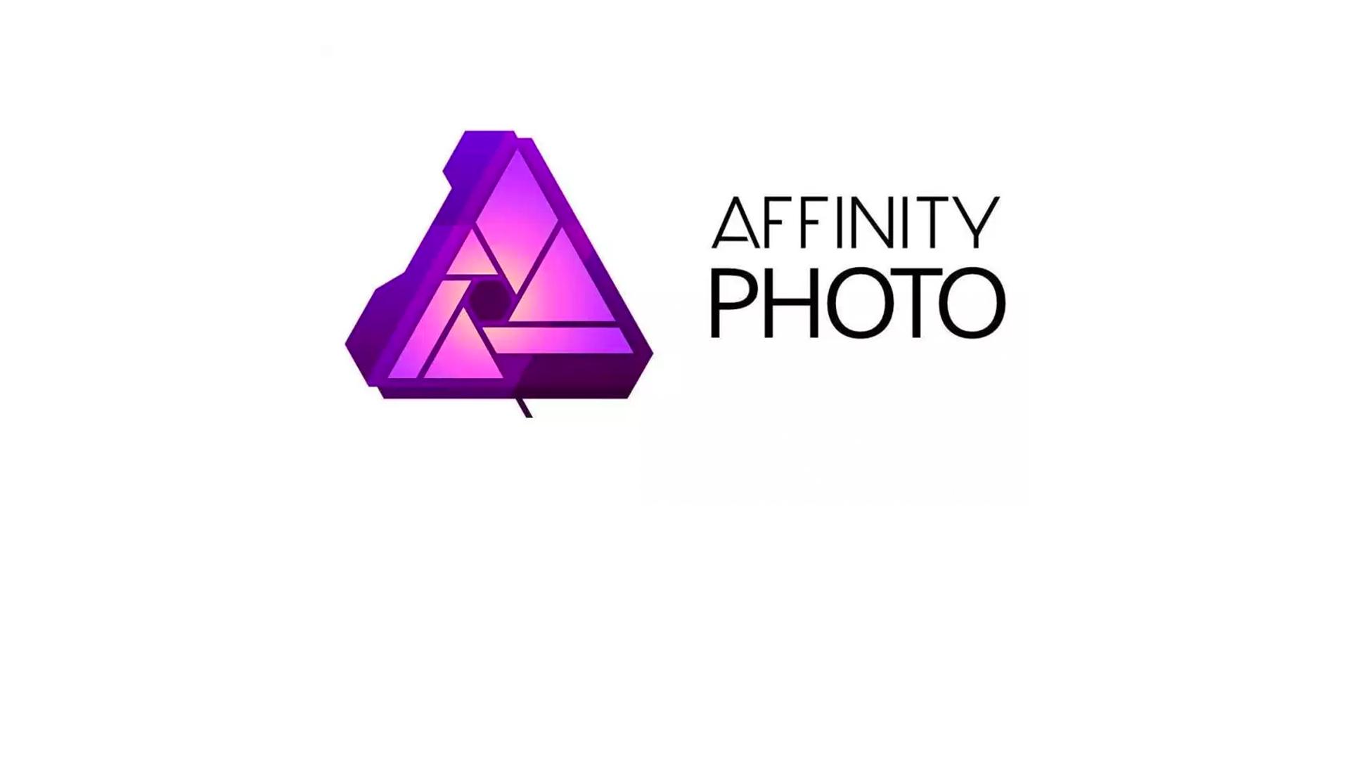 Snel op weg met Affinity Photo